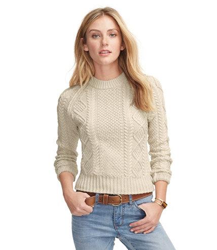 Women's Signature Cotton Fisherman Sweater | Free Shipping at L.L. ...