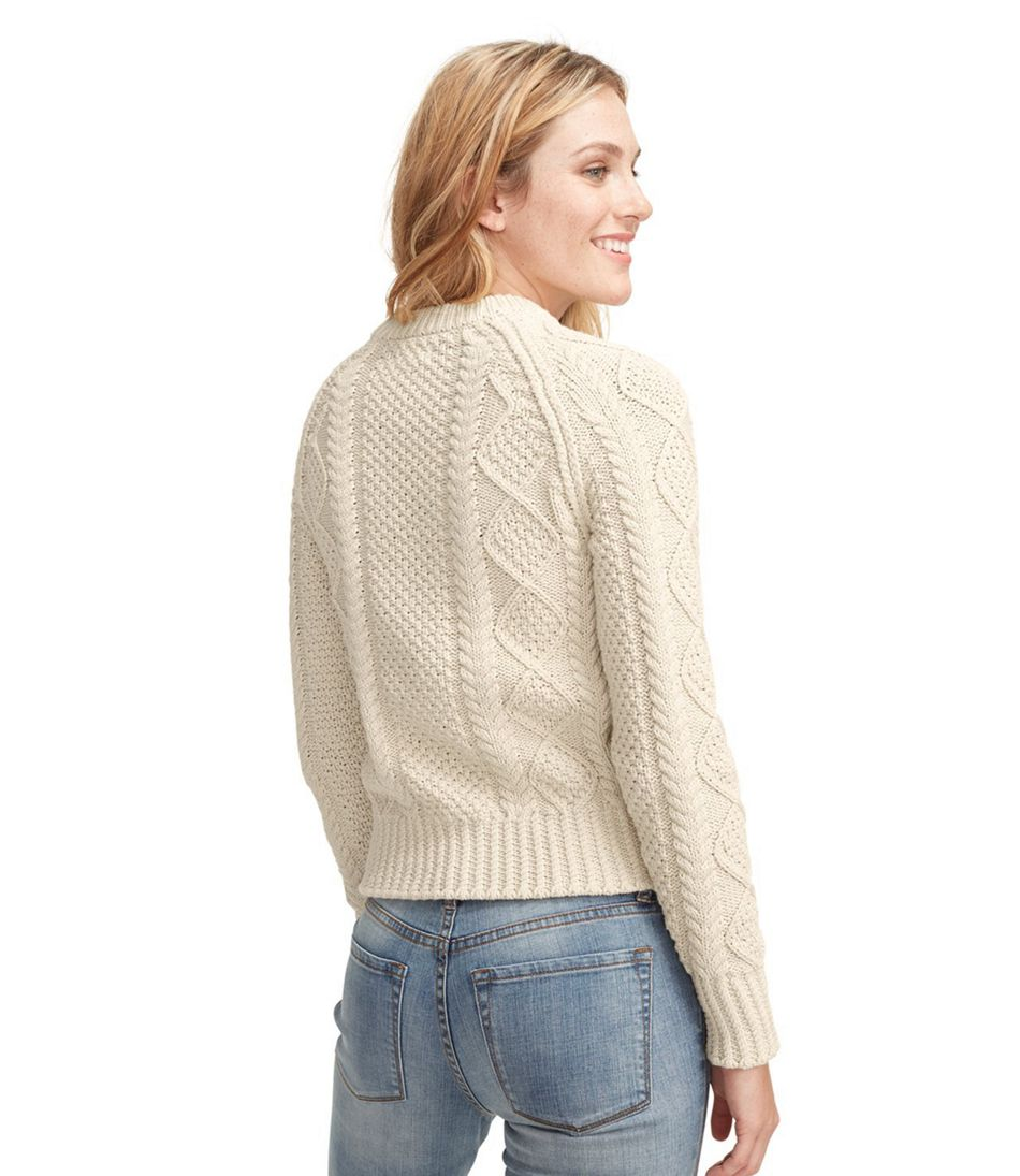 Women's Signature Cotton Fisherman Sweater