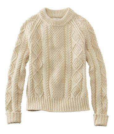 Signature Cotton Fisherman Sweater