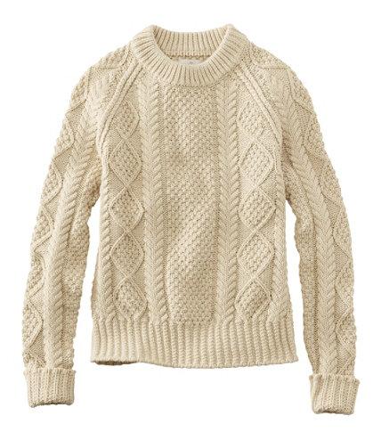 Women S Signature Cotton Fisherman Sweater