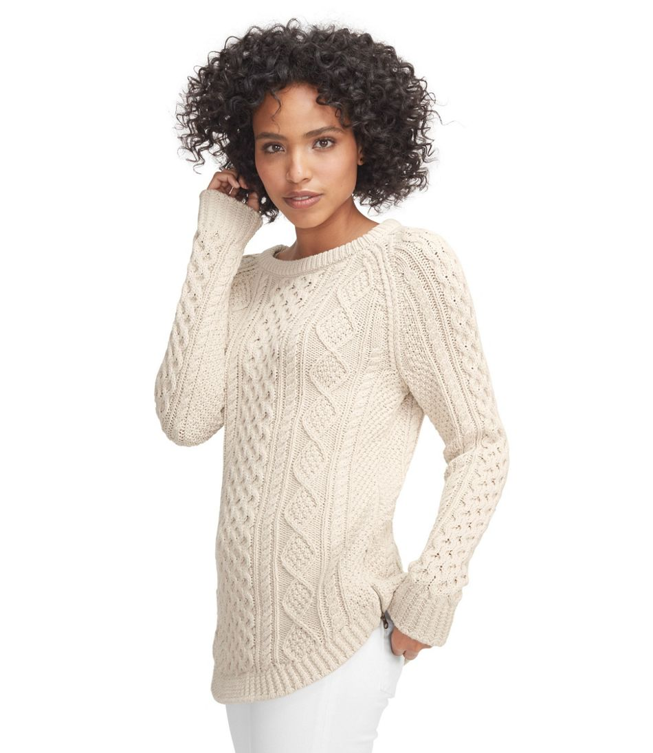 Women's Signature Cotton Fisherman Tunic Sweater