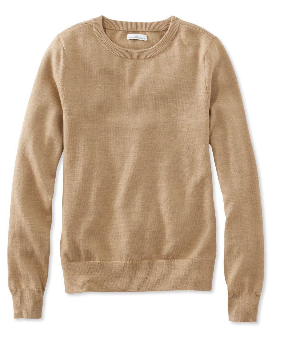Signature Merino Crewneck Sweater