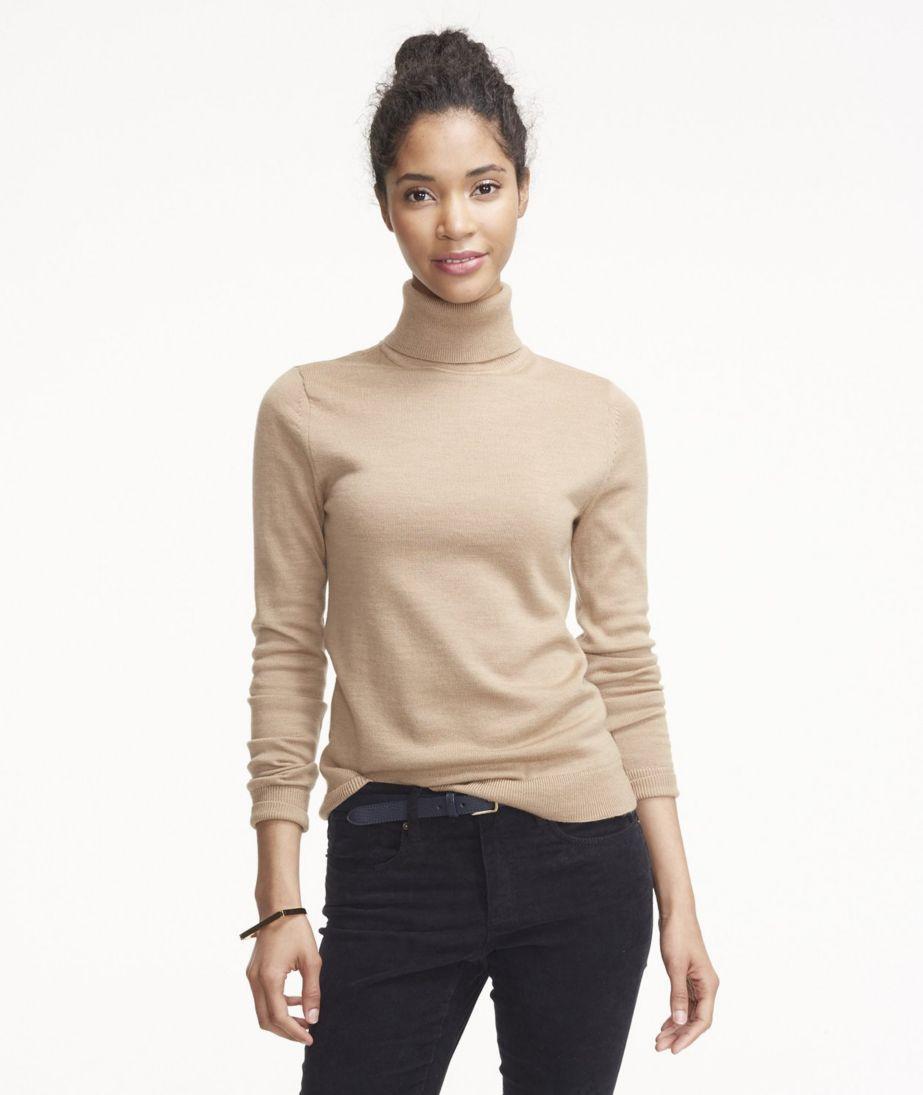 Signature Merino Turtleneck Sweater