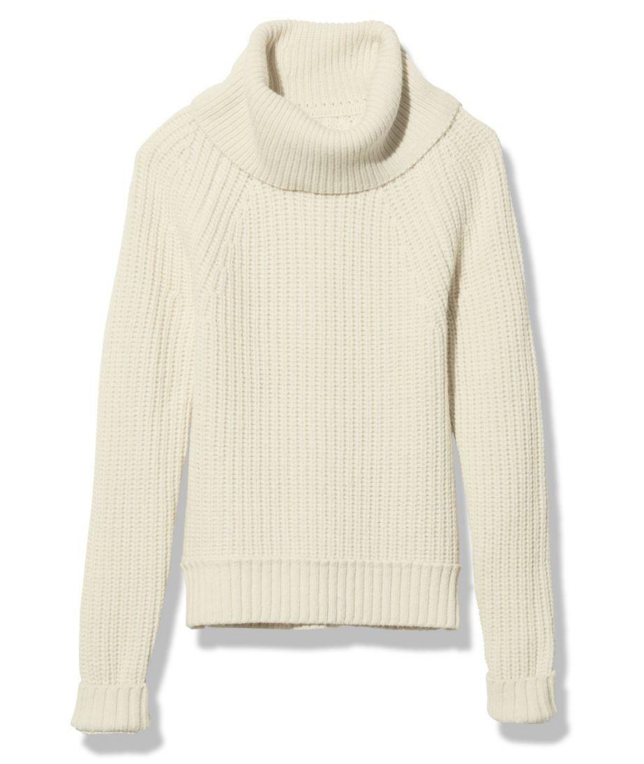 Signature Alpaca-Blend Sweater, Cowlneck