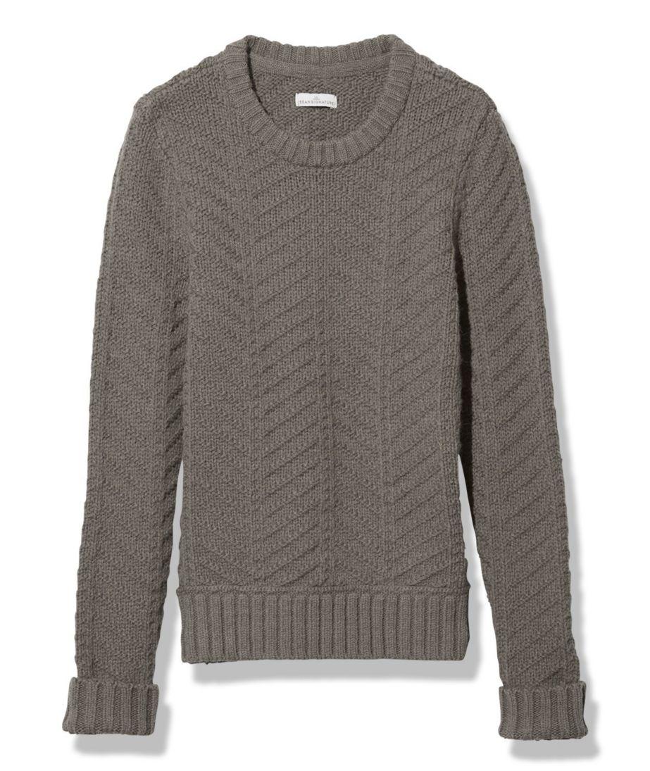 Signature Alpaca-Blend Sweater, Crewneck