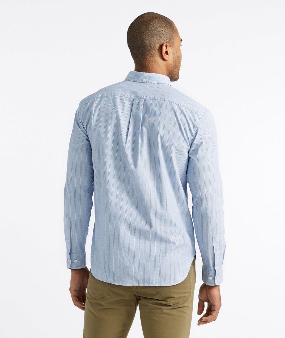 Signature End-on-End Shirt, Slim Fit Stripe