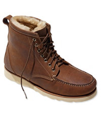 Signature Country Walker, Shearling-Lined Oxford Shoes