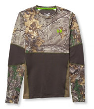 Men's Under Armour ColdGear Infrared Scent-Control Evolution, Crewneck