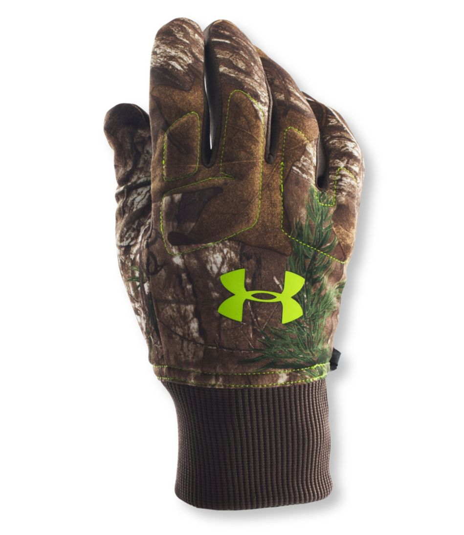 Under Armour Scent-Control Armour Fleece Hunting Gloves