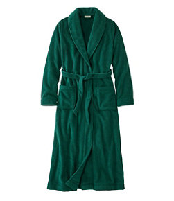 Women's Winter Fleece Robe, Wrap-Front