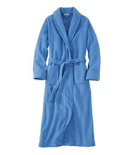 Winter Fleece Robe, Wrap-Front