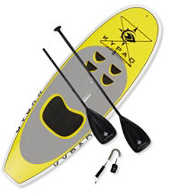 Kypad Kids' Stand Up Paddle Board Package, 7'6""