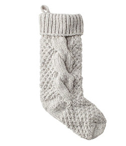 Chunky Knit Christmas Stocking