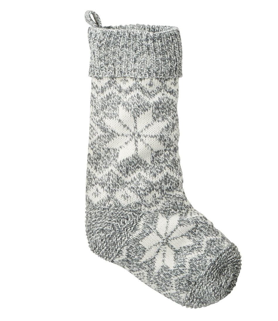 Chunky Knit Christmas Stocking