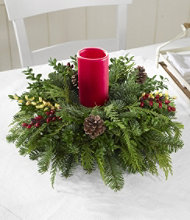 Woodland Berry Centerpiece
