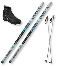 Discovery Positrack NIS Ski Set with Rossignol X2 Boots