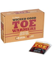 Wicked Good Toe Warmers, Pack of 18 Pairs