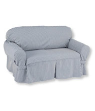 Washable Furniture Slipcovers, Stripe