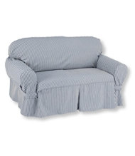 Washable Furniture Slipcovers, Stripe