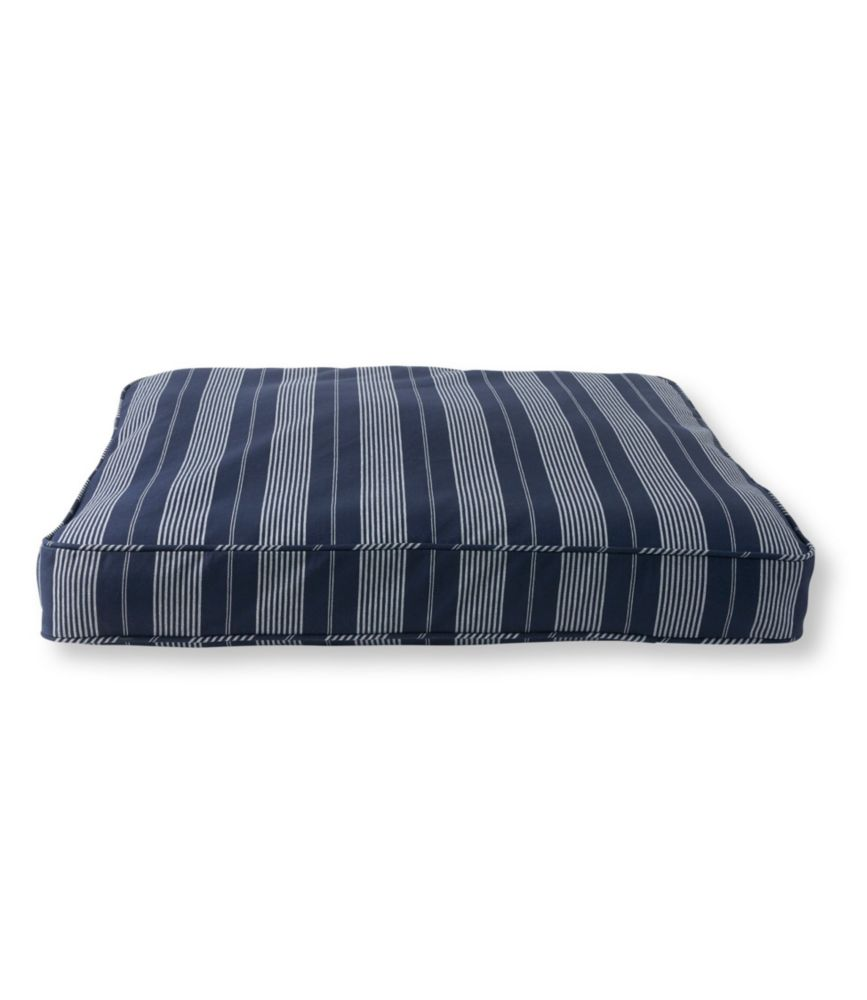 Striped Dog Bed Set, Rectangular
