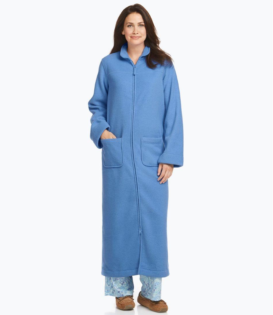 Winter Fleece Robe, Zip-Front