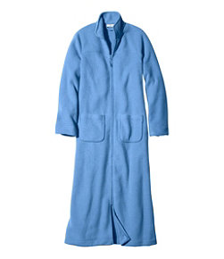 Winter Fleece Robe, Zip-Front