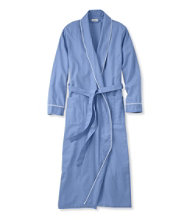 Pima Cotton Flannel Robe