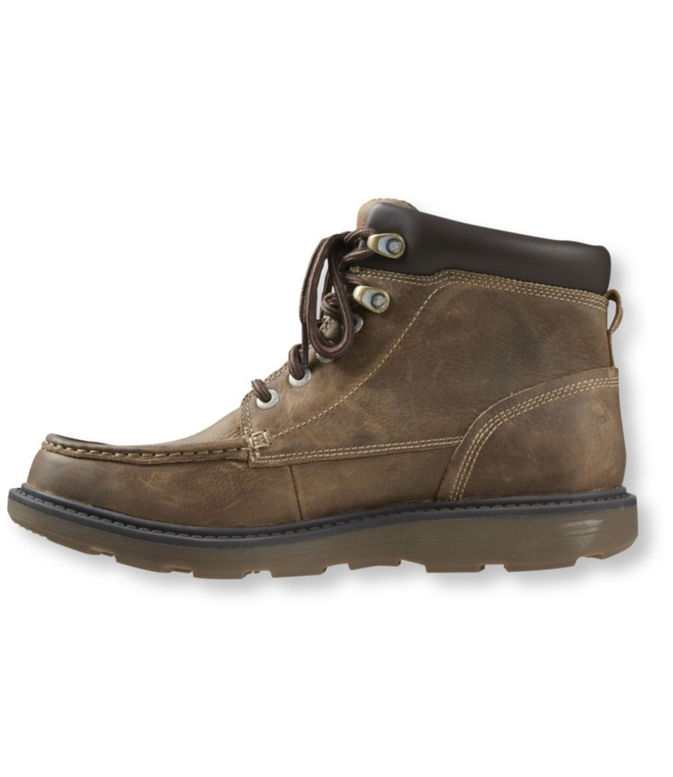 Men's Rockport Boat Builders Waterproof Boots, Moc Toe