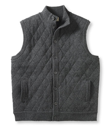Lambswool Sweater, Quilted Vest | Free Shipping at L.L.Bean.