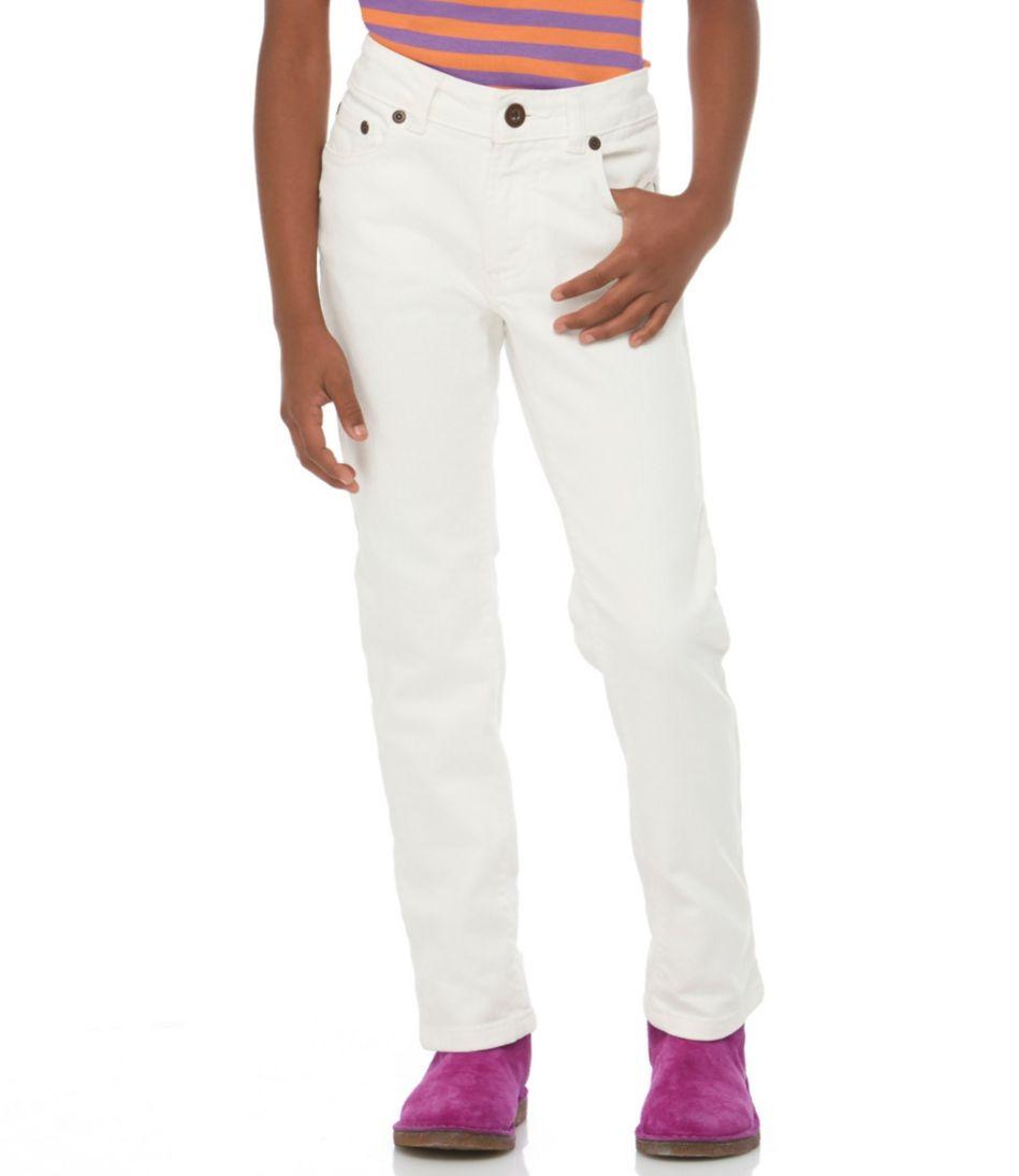 Girls' Double L® Jeans, Straight-Leg