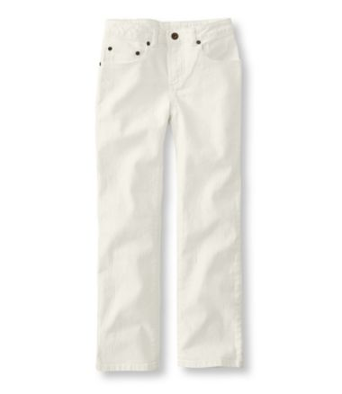 Girls' Double L® Jeans, Straight-Leg