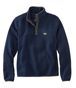 Men's L.L.Bean Sweater Fleece Pullover