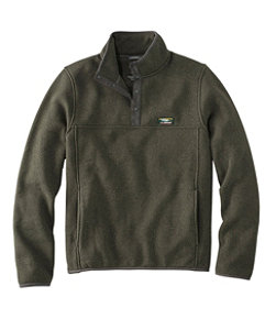 L.L.Bean Sweater Fleece Pullover