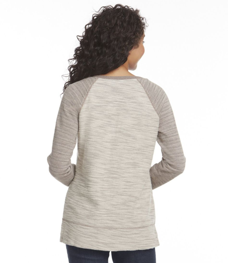 Marled Textured Top