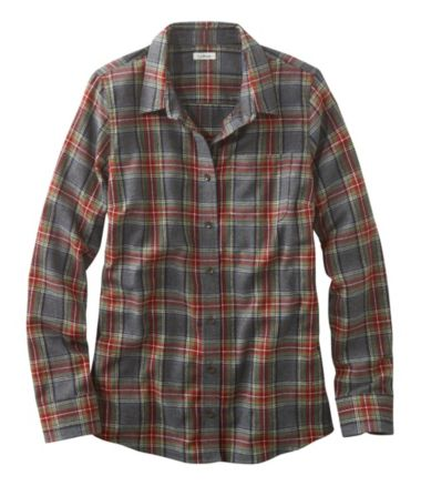Scotch Plaid Shirt, Slightly Fitted