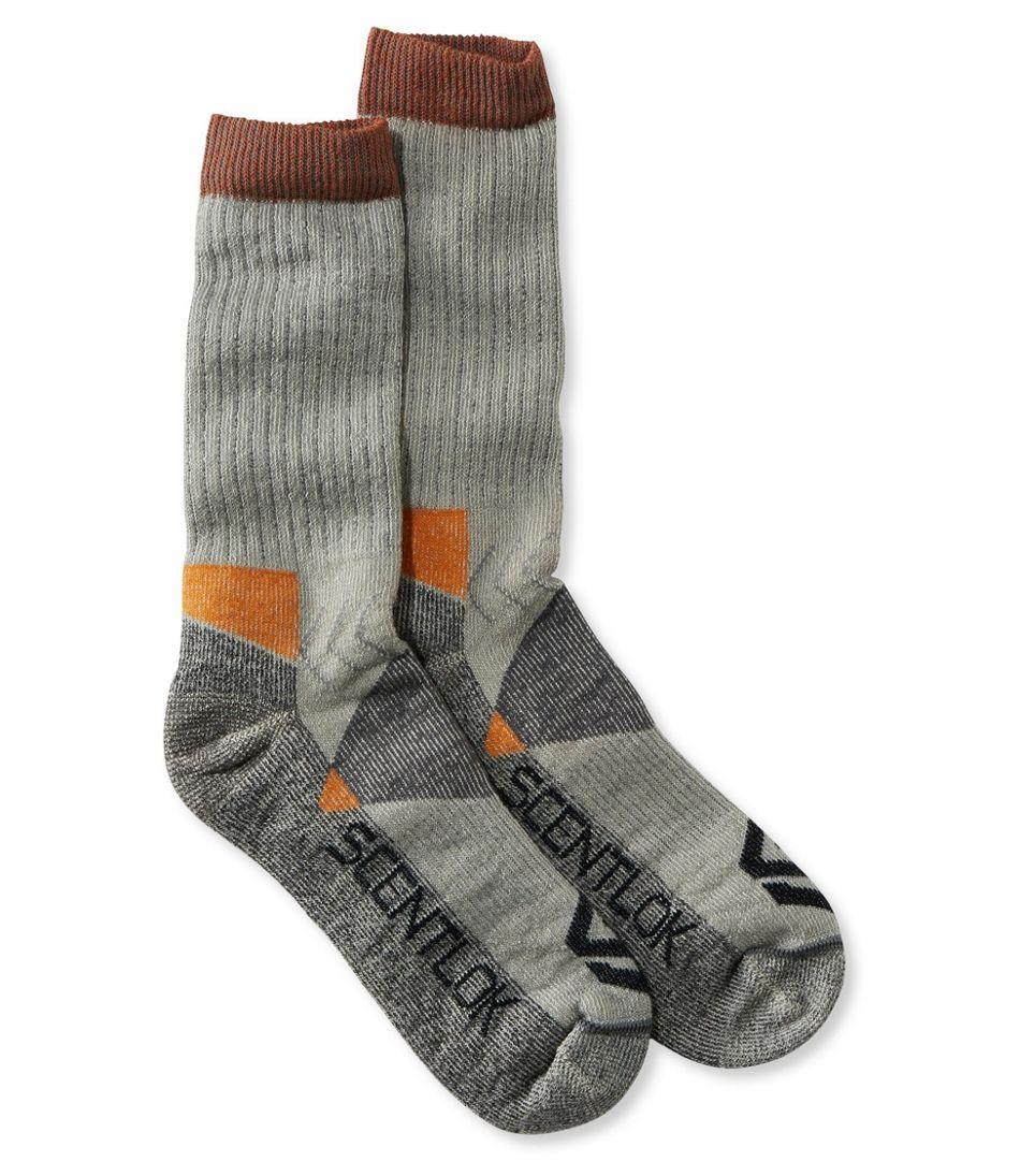 Scent-Lok Hiking Socks, Crew