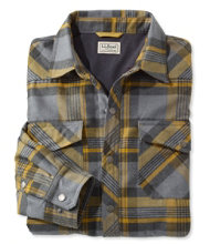 Overland Performance Flannel Shirt, Lined