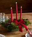 Traditional Balsam Candle Centerpiece Regular, One Color, small image number 1