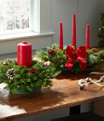 Traditional Balsam Candle Centerpiece Regular, One Color, small image number 2