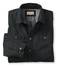 Katahdin Iron Works Fleece-Lined Canvas Shirt