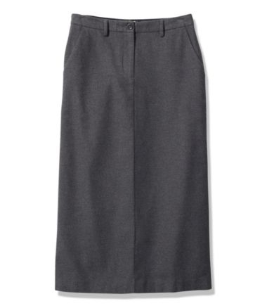 Weekend Mid-Length Skirt, Heathered