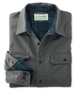 Men's Flannel-Lined Hurricane Shirt