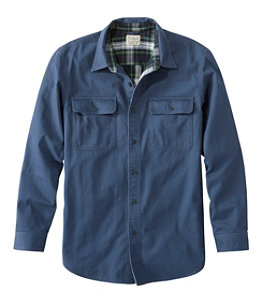 Men's Flannel-Lined Hurricane Shirt