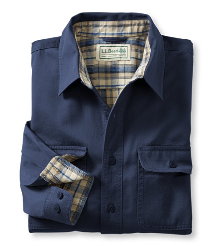flannel lined hurricane shirt