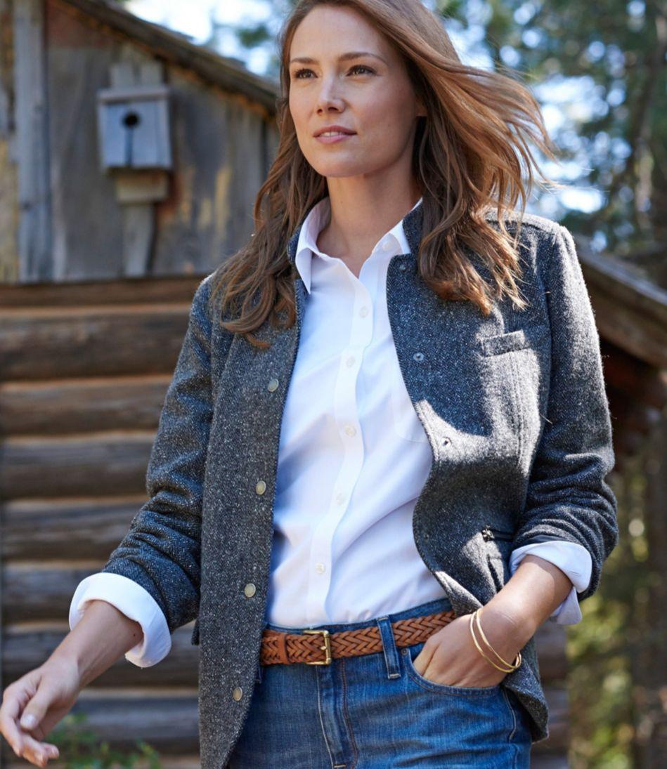 Stonington Jacket, Herringbone