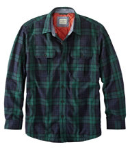 PrimaLoft-Lined Shirt-Jac Slightly Fitted Plaid