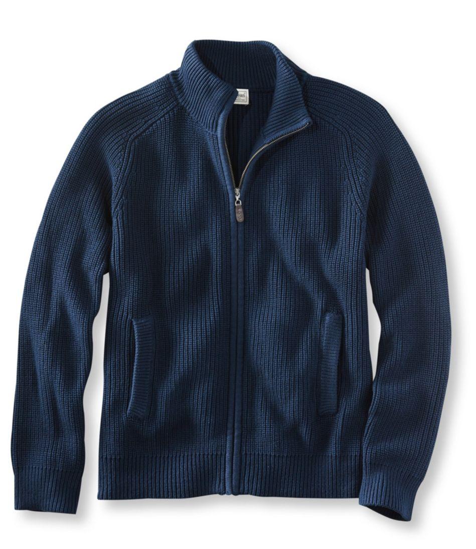 Blue Jean Sweater, Full Zip