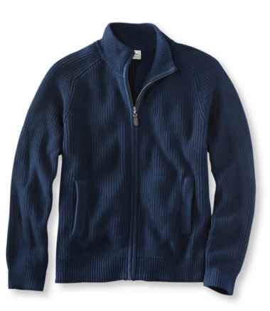 Blue Jean Sweater, Full Zip