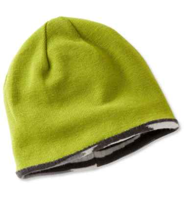 Reversible Merino Wool Ski Hat