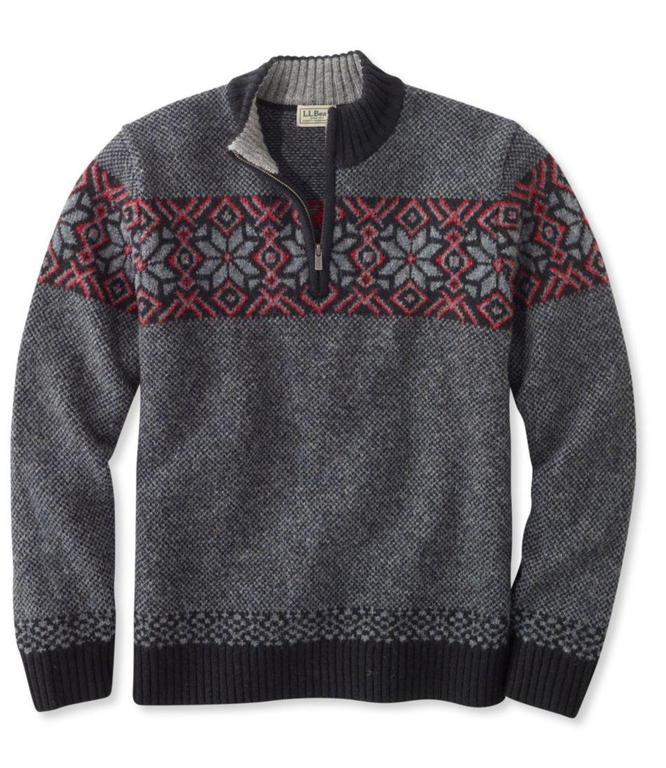 Shetland Wool Sweater, Fair Isle